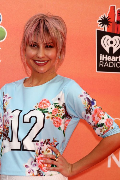 Chelsea Kane short layered hairstyle