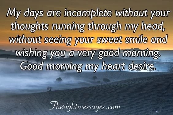 Sweet Good Morning Text Messages For Him The Right Messages