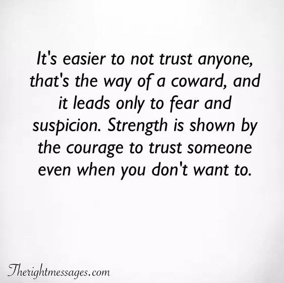 powerful trust quotes sayings