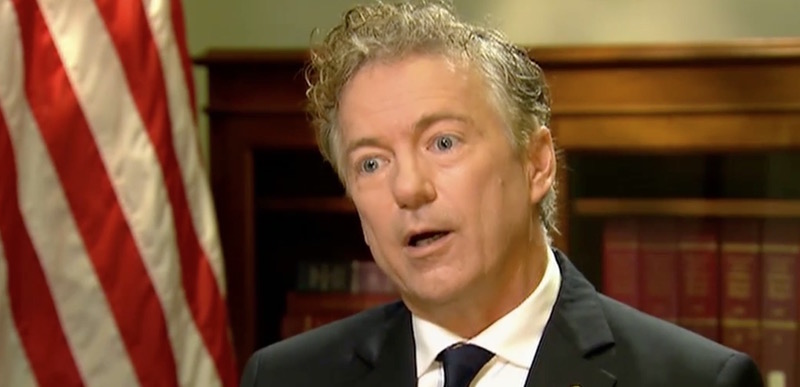 !!! Rand Paul is asking a BIZARRE question of Trump's CIA pick…
