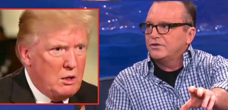 Tom Arnold says he knows stuff about Trump… BAD stuff…