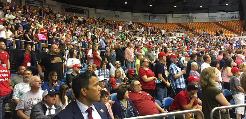 Trump SLAMS NY Times for getting Nashville crowd size ...