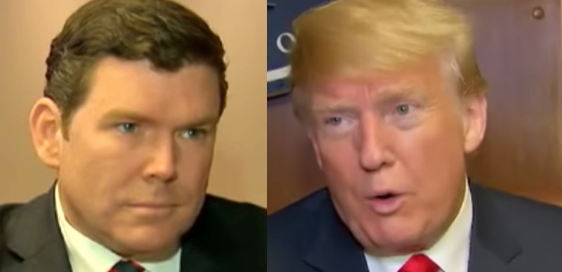 Image result for trump bret baier interview