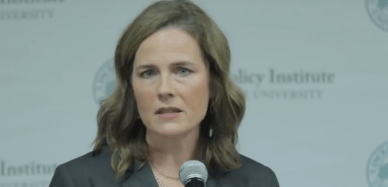 Amy Barrett shows she's ready for the Supreme Court with this amazing statement