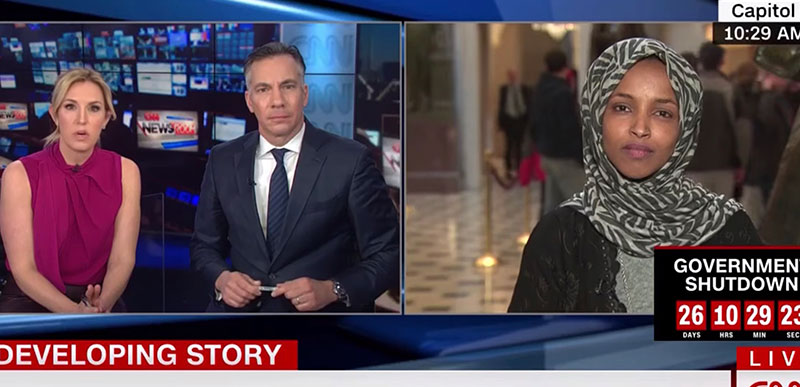 Muslim Congresswoman says she doesn't know why Jewish Americans were offended by her anti-Semitic tweet!