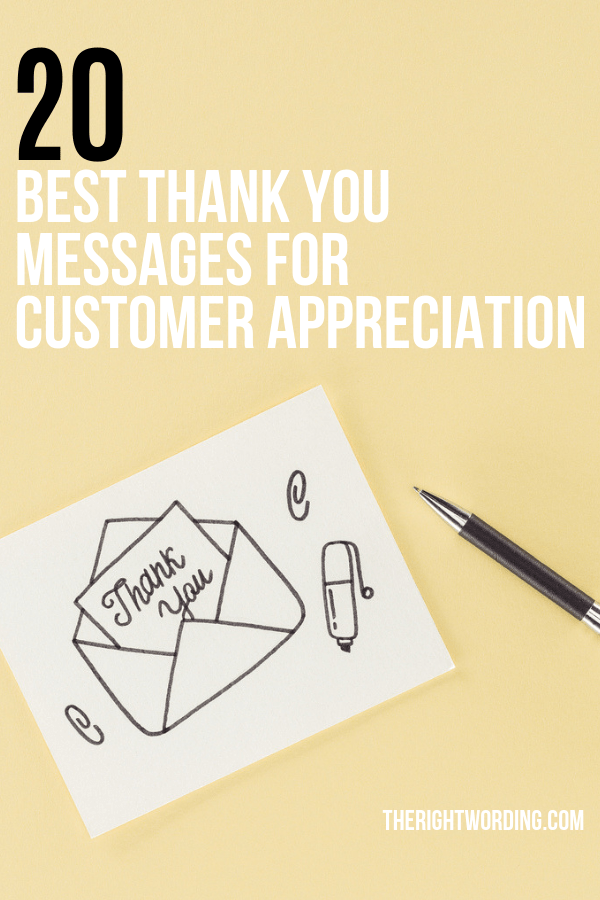 Thank You For Trusting Us : thank, trusting, Thank, Messages, Quotes, Customer, Appreciation