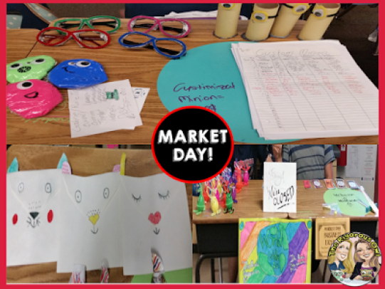 Market Day! Let the SHOPPING BEGIN! Click here to learn all about this amazing classroom event!