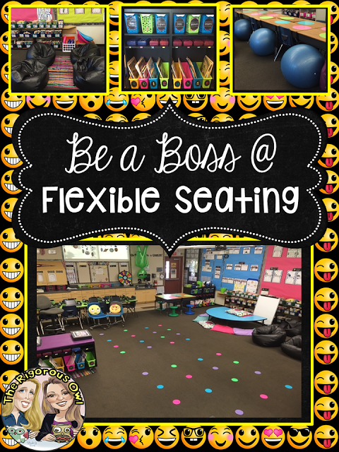 Be a BOSS at Flexible Seating