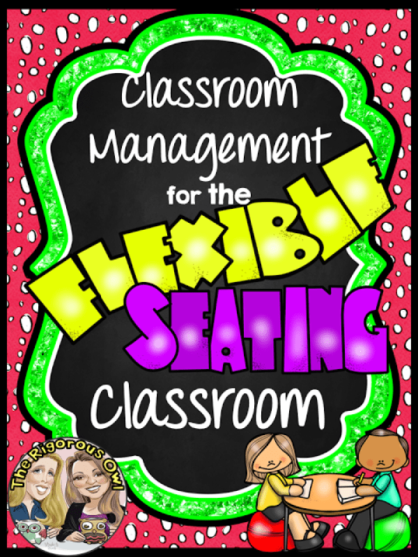 Be a BOSS at Classroom Management in the Flexible Seating Classroom!