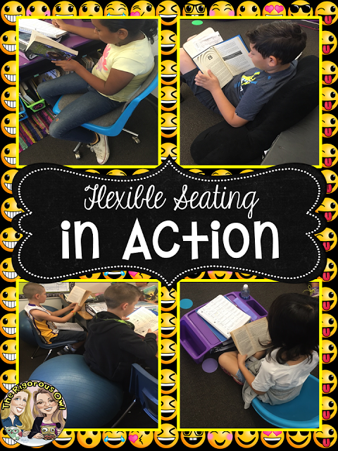 Check out these Flexible Seating Options in Action!