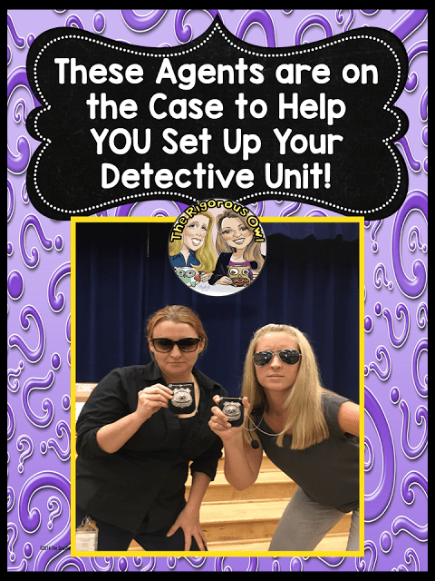 We are ON THE CASE to help you with your Mystery Unit!