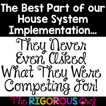 Read how to implement the House System inspired by Ron Clark and experience the joy students have by creating a postive school culture. It is truly life changing.Click here and learn how you can do the same for your school.