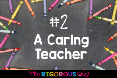 #2: Be a Teacher Who Cares