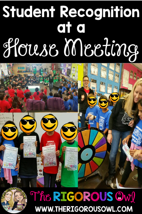 Read about student recognition at House Meetings and how this will change your classroom culture. You won't believe how easy House Meetings are to implement. Click here and find out how.
