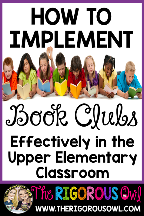 Find out How to Implement Book Clubs Effectively in the Upper Elementary Classroom.