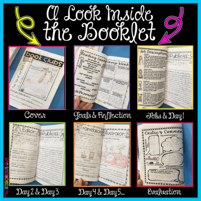 Take a look at what our students do in their Book Club Booklets!
