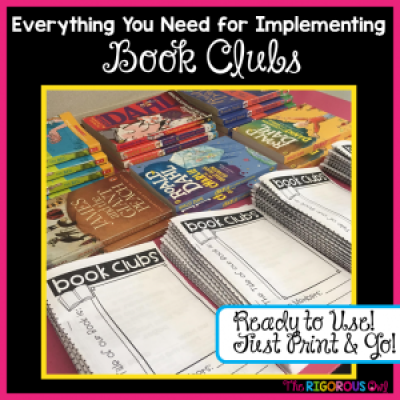 We have all the tools you need to run Book Clubs in your room!