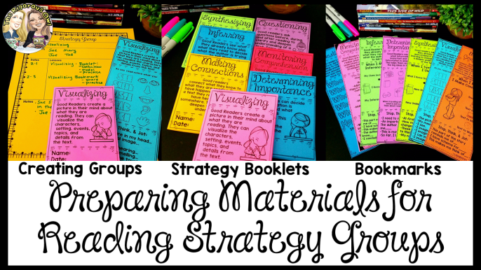 Reading Strategy Groups Materials