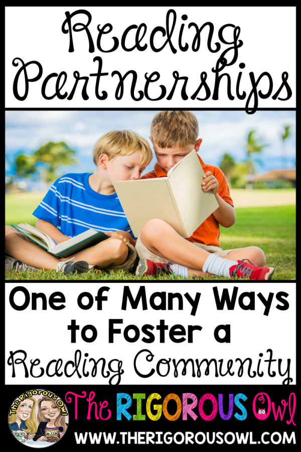 Foster a Reading Community with Reading Partnerships!