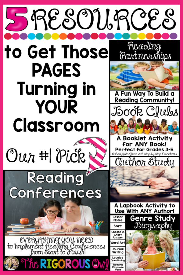 5 Resources to Encourage a Love of Reading in YOUR Classroom! CLICK HERE!