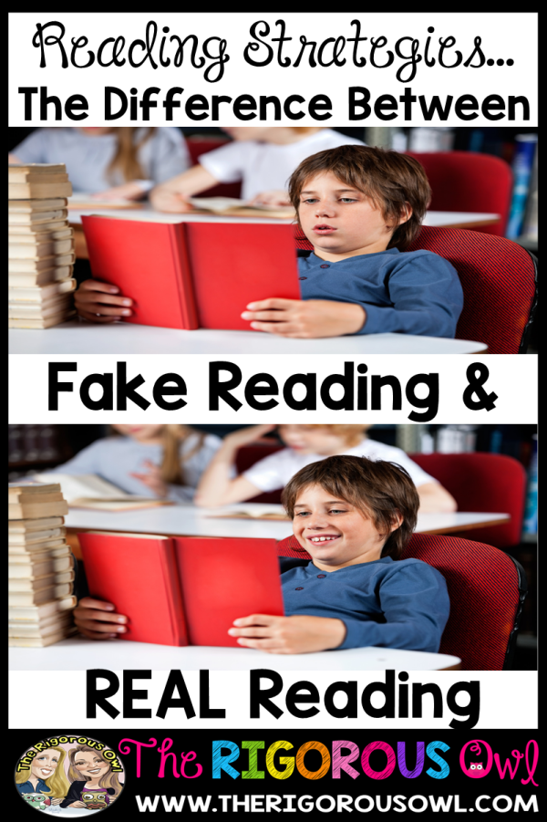 Reading Strategies Create REAL Readers