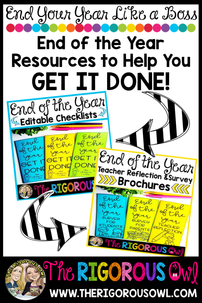 End of Year Resources for Teachers