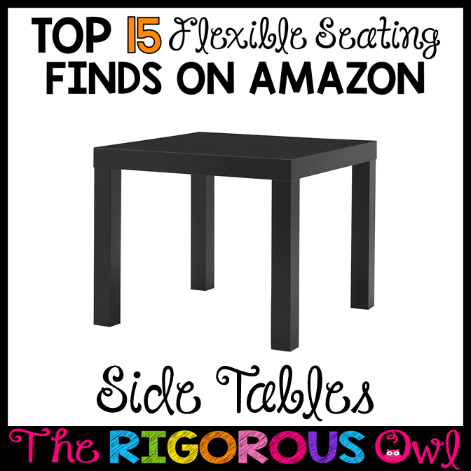 Side Tables for the Flexible Seating Classroom