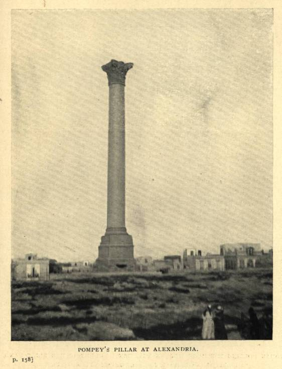 Pompey's_Pillar_at_Alexandria_(1911)_-_TIMEA