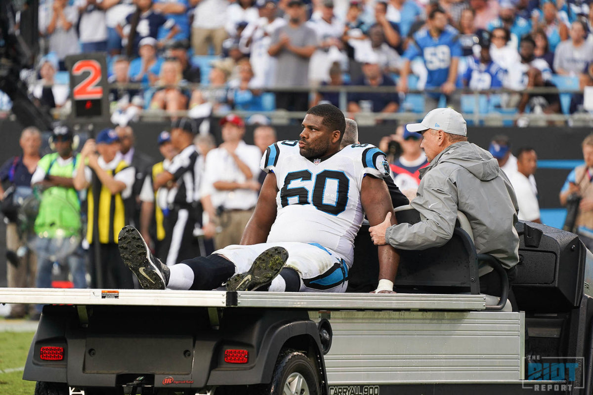 Greg Olsen and Daryl Williams Injury Updates  The Riot Report