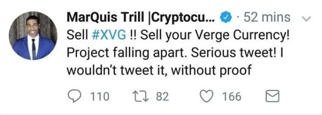 Verge hoax initial tweet