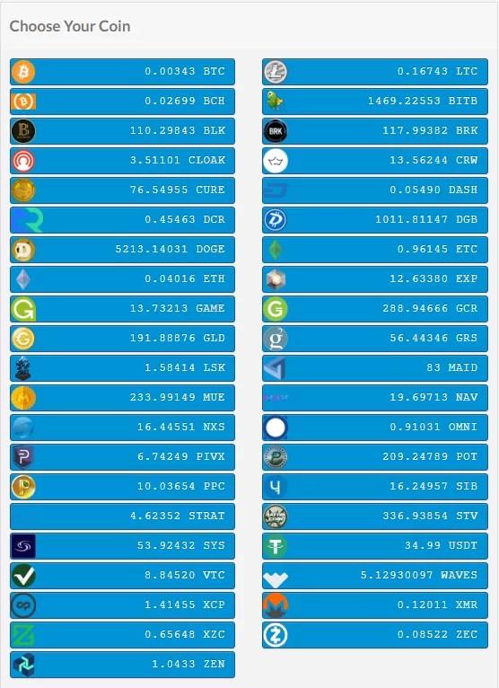 Crypto Checkout Example