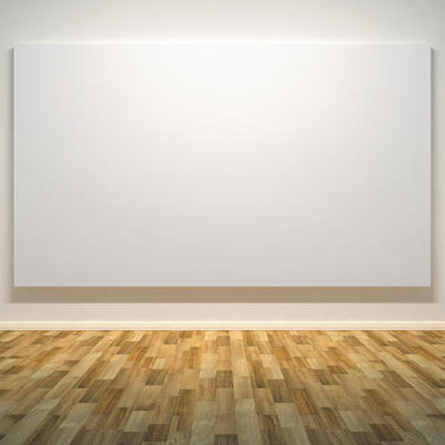 A Blank Canvas that describes the poet's favorite type of art