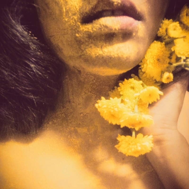 Yellow Daisies and Yellow smiles on a girl