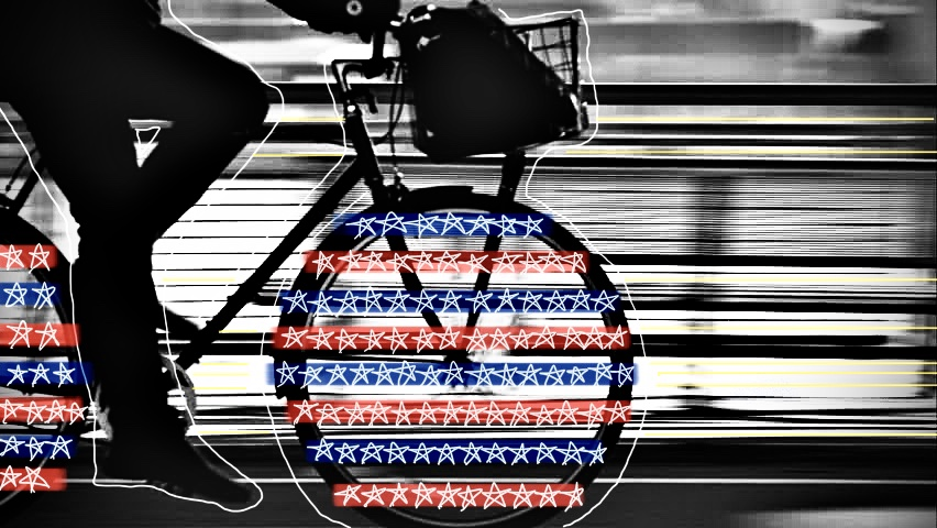 The Average American: The Red White and Blue with Stars Edit