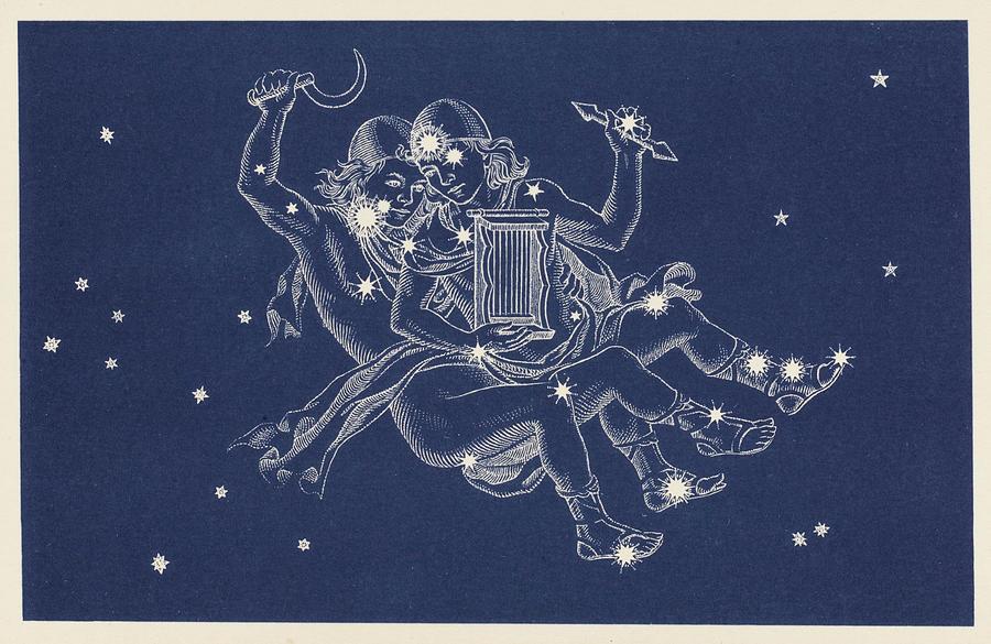 Art: The Constellation Gemini
