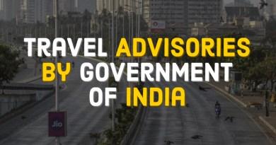 Extensive Travel Advisories on COVID-19