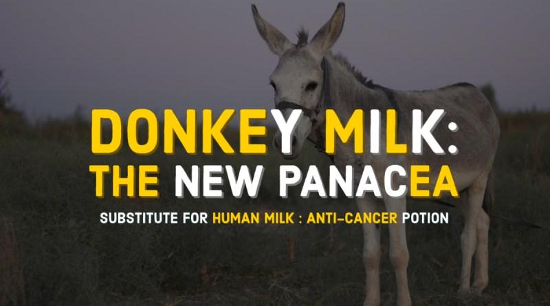 Donkey milk for human health