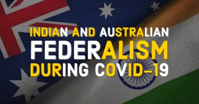 Indian and Australian Federalism during Pandemic