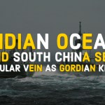 Indian Ocean and South China Sea