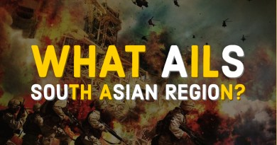 What ails South Asian region?
