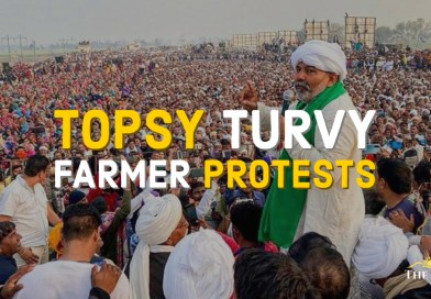 Topsy Turvy Farmer Protests