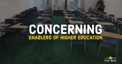 Concerning enablers of higher education