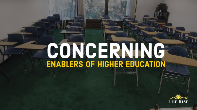 Concerning enablers of higher education