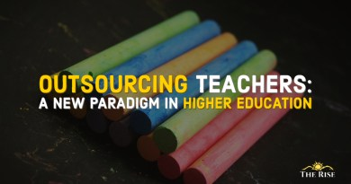 Outsourcing Teachers in Higher Education