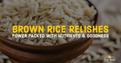 BROWN RICE RELISHES