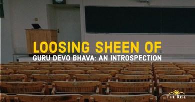 Loosing sheen of Gurus