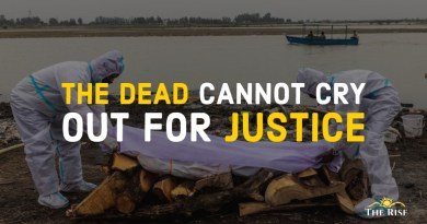 The Dead cannot cry out for Justice