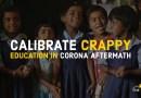 Calibrate Education in Corona Aftermath