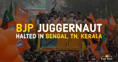 BJP Juggernaut Halted in 2021