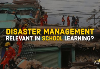 Disaster Management in School Learning
